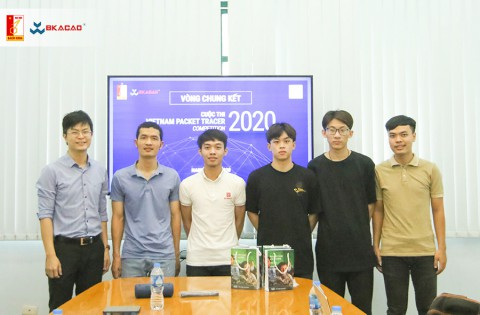 Chung kết cuộc thi Vietnam Packet Tracer Competition 2020