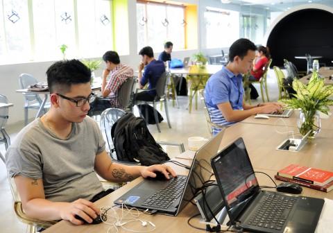 BKH-Up - Co Working Space - Không gian sáng tạo khởi nghiệp dành cho sinh viên BKACAD