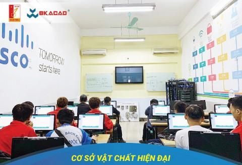Cơ sở vật chất hiện đại phục vụ tốt nhất cho nhu cầu học tập của sinh viên