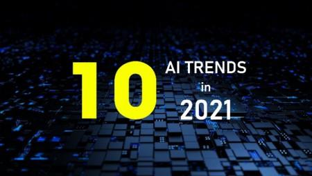 TOP 10 XU HƯỚNG AI NỔI BẬT TRONG NĂM 2021