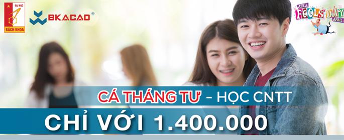 NGÀY CÁ THÁNG TƯ - HỌC CNTT CHỈ VỚI 1.400.000